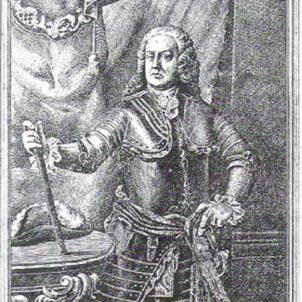 Mor Villarroel, l'heroi militar del setge de 1714. Retrat de Villarroel (segle XVIII). Font Arxiu Historic de Catalunya. Col.lecció Carreras Balbuena