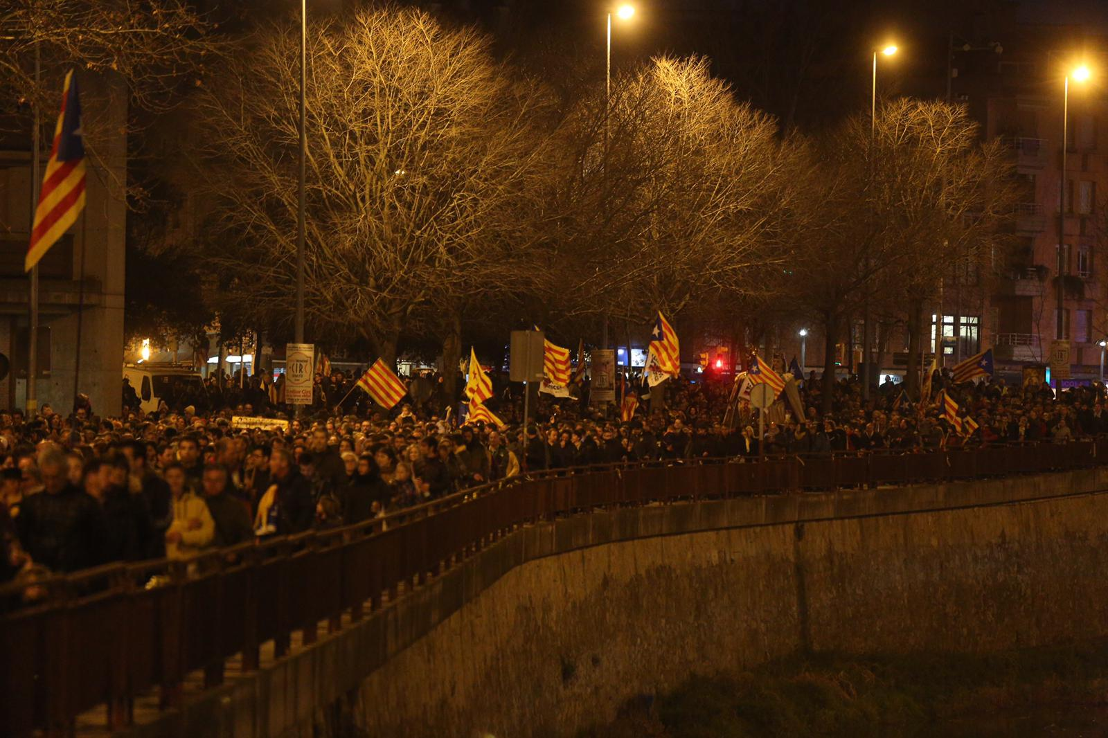 Manifestacio girona Vaga General - Carles Palacio