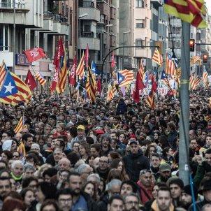 vaga general 21F girona manifestacio -bona qualitat- Carles Palacio