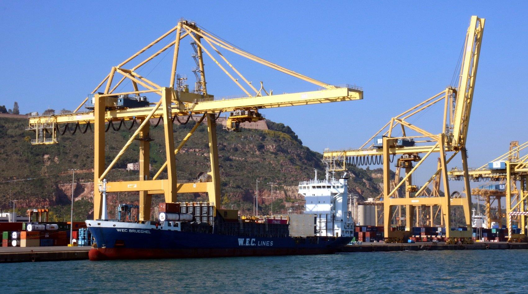 vaixell port de barcelona acn