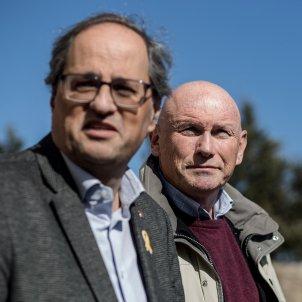 lehendakari ibarretxe president generalitat quim torra mas perxet exili -bona qualitat - Carles Palacio
