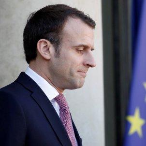 emmanuel macron president franca efe