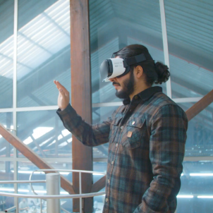 realitat virtual espot catalunya mobile - captura
