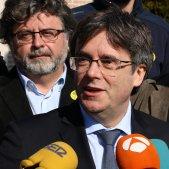 """Puigdemont, a Arrimadas: """"Si vol dir-me alguna cosa que entri i m'ho digui a la cara"""""""