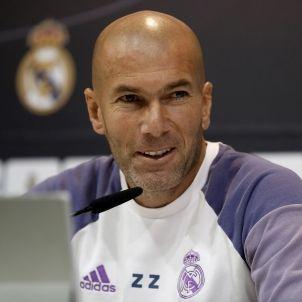 Zinedine Zidane Madrid roda de premsa EFE