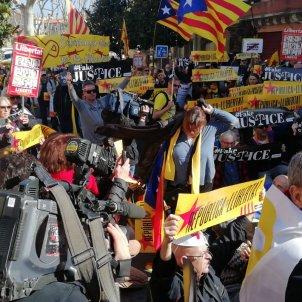 manifestació cotlliure. jordi palmer