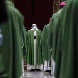 Papa Francesc trobada pederastia Vaticà efe