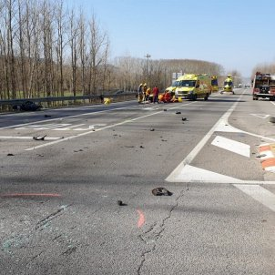 accidents trànsit Sant Feliu Buixalleu bis