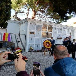 pedro Sánchez tomba Machado banderes jordi palmer