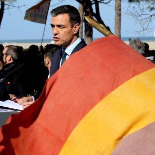 Pedro Sánchez visita Argelers EFE