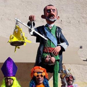 Testicles Felip VI Ribes de Freser comitiva   Teatre d'Emergència