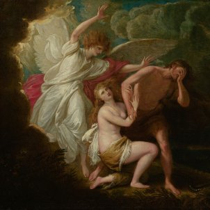 Benjamin West, Expulsió d'Adam i Eva del paradís (1791)