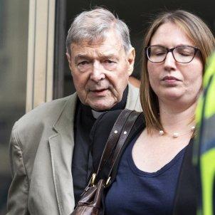 George Pell tresorer del Vaticà condemnat per abusos Australia EFE