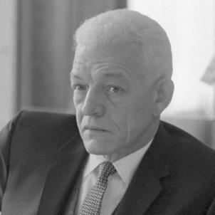 Joan Bosch es nomenat president de la República Dominicana. Fotografia de Joan Bosch. Font Arxiu Nacional dels Paisos Baixos