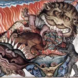 Drac (Cloisters Apocalypse, ca 1330)