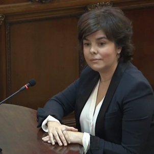 judici procés Soraya Saenz Santamaria mirada