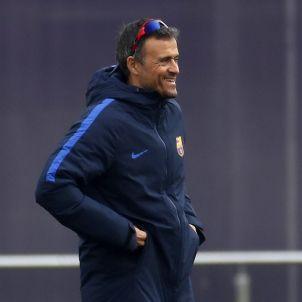 Luis Enrique Barça entrenament FCB EFE