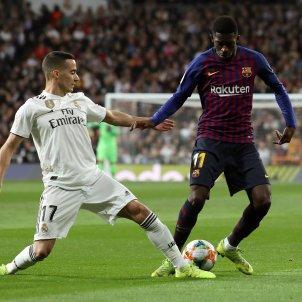 Dembele Lucas Vazquez Madrid Barca EFE