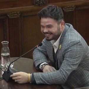 judici procés Gabriel Rufián somriure