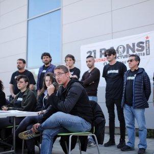campanya 21 raons encausats tall via AVE Girona 2018 Carles Palacio
