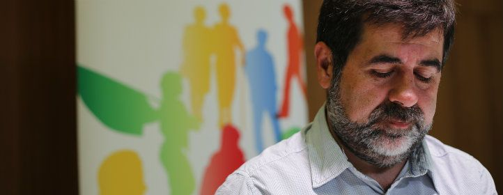 ESBORRAR NO UTILITZAR NO FA LA MIDA Jordi Sánchez, president de l'ANC, Sergi Alcàzar