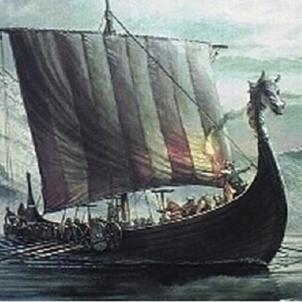 Vaixell viking. Font  Museu Marítim Barcelona