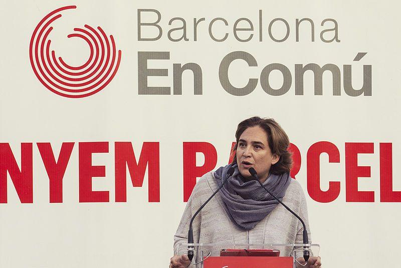 colau   Barcelona En Comú