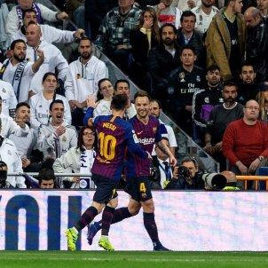 Rakitic Messi Madrid Barca EFE