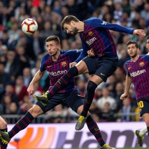 Pique Lenglet Ramos Madrid Barca EFE