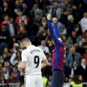 Pique Benzema Madrid Barca EFE