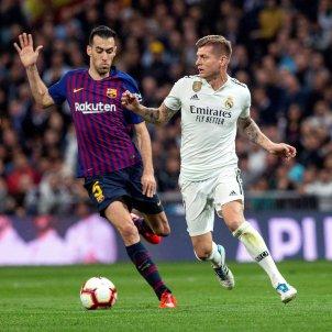 Busquets Kroos Madrid Barca EFE