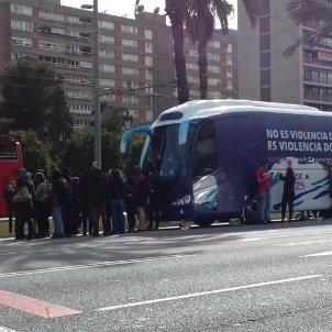 Autobus Hazte Oir diagonal - @SEPC_Diagonal