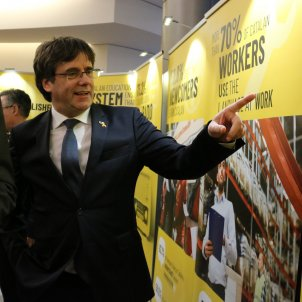 president Carles Puigdemont Eurparlament - ACN