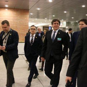 carles puigdemont parlament europeu tremosa - acn