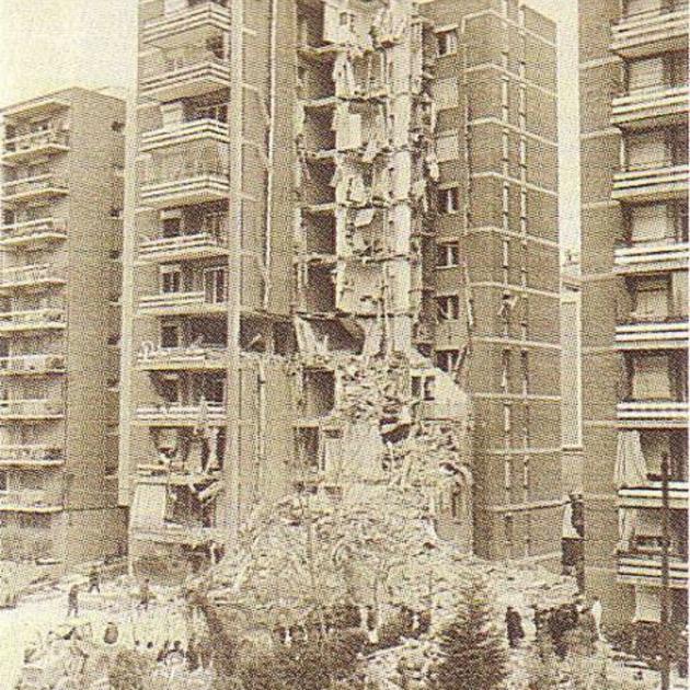 La misteriosa explosió de Sarrià que no va ser mai aclarida. Edifici sinistrat. Font Blog Llibertat