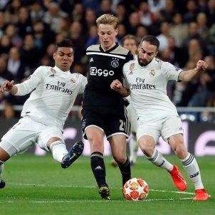 De Jong Casemiro Carvajal Reial Madrid Ajax EFE