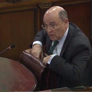 juicio procés   Perez de los cobos maletin