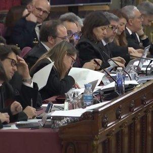 juicio procés   bancada advocats