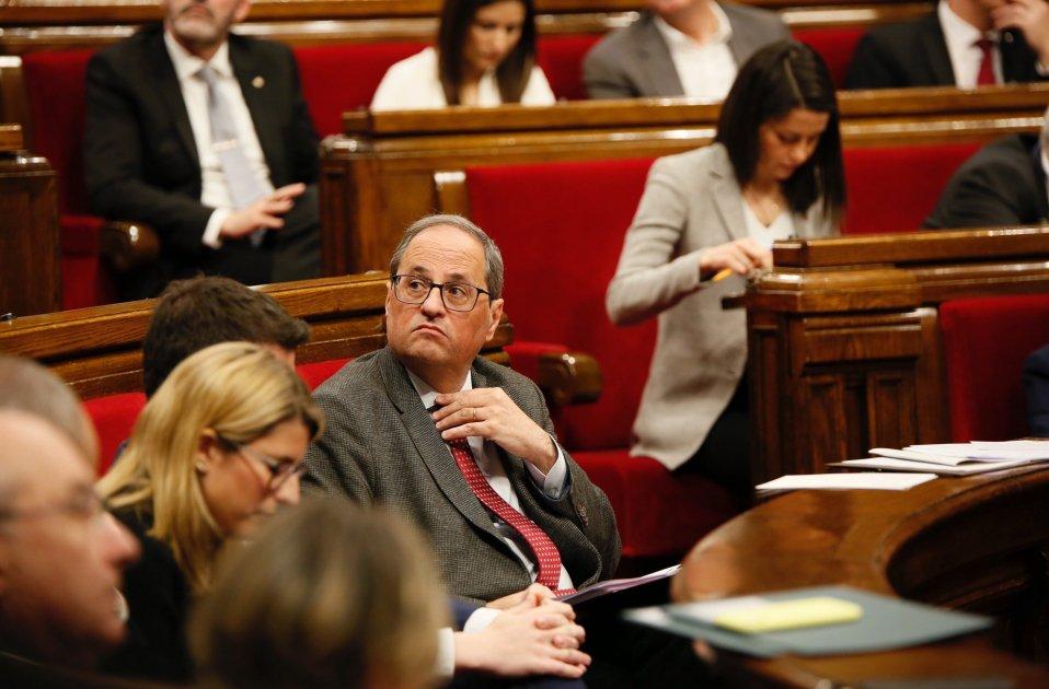 Quim Torra Inés Arrimadas Parlament - Sergi Alcázar