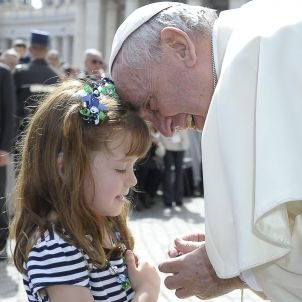 Papa Francesc nena Vaticà