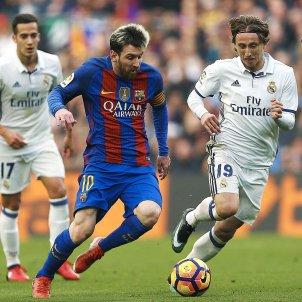 Messi Sergio ramos luka modric real madrid barça efe