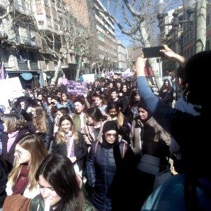Manresa manifestacio feminista comite 8M Manresa