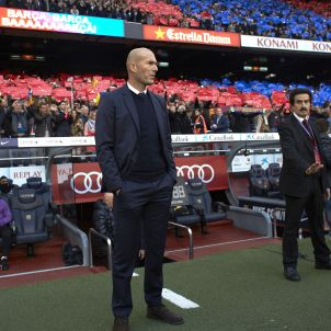 Zinedine Zidane Clàssic Barça Reial Madrid Camp Nou Efe
