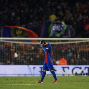 Leo Messi Barça Madrid EFE