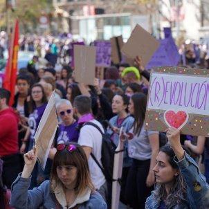 manifestació estudiants 8 M guillem Camos El Nacional