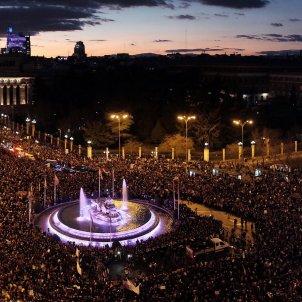 8-M manifestació feminista Madrid - Efe