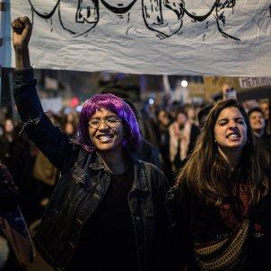 8-M vaga feminista manifestacio girona (bona qualitat) - Carles Palacio