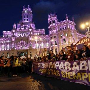 Madrid Manifestació feminista EFE
