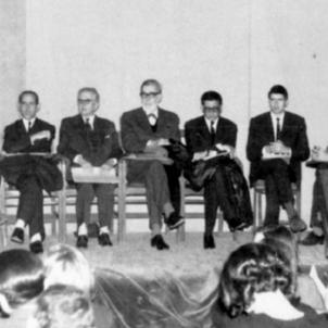 Convent dels Caputxins de Sarrià. Assemblea. Font Arxiu Nacional de Catalunya. Foto Guillem Martinez