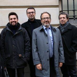 judici procés observadors Monica Aranda, Jorge Correcher, Hadi Cin, Gustavo Palmieri 6 març ACN